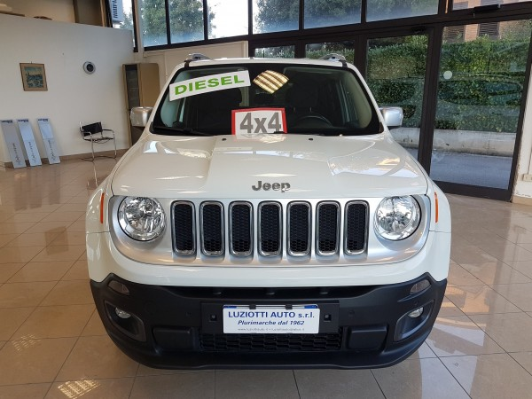RENEGADE 2.0 MJET 140CV 4WD LIMITED